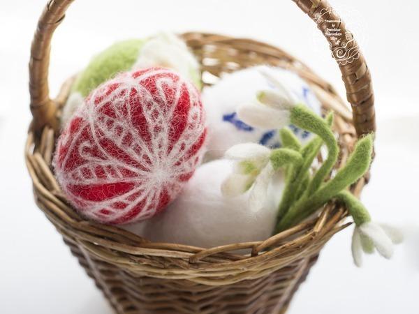 Валяем пасхальные яйца сами и с детьми | Ярмарка Мастеров - ручная работа, handmade