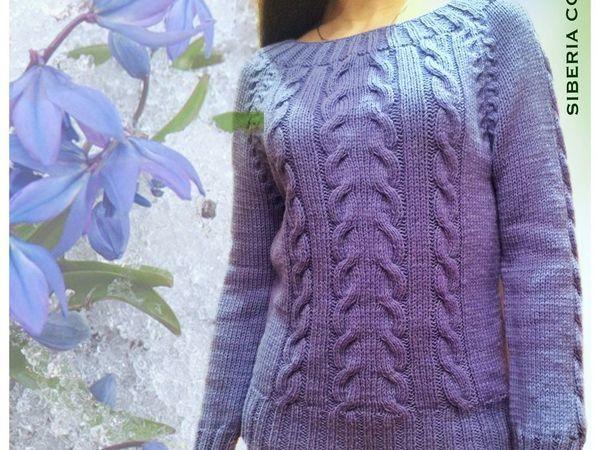 Хотите свитер ручной работы с косами? | Ярмарка Мастеров - ручная работа, handmade