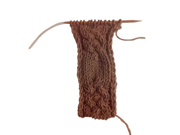 Вяжем узор «Плетенка» спицами | Ярмарка Мастеров - ручная работа, handmade