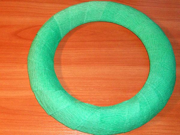 Делаем заготовку для веночка с нуля из бросовых материалов   Ярмарка Мастеров - ручная работа, handmade