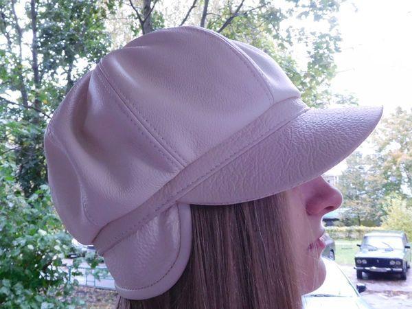 Видео мастер-класс: шьем кепку-восьмиклинку из кожи | Ярмарка Мастеров - ручная работа, handmade