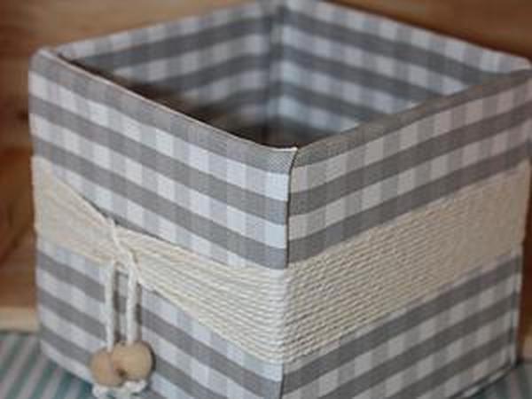Мастерим уютную коробочку для домашних нужностей и ненужностей | Ярмарка Мастеров - ручная работа, handmade