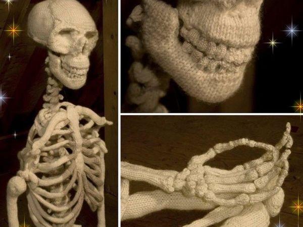 Анатомия в петельках! Художница Шанель Пэпп связала крючком скелет и внутренние органы человека | Ярмарка Мастеров - ручная работа, handmade