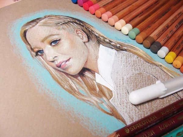 Рисуем портрет пастелью: советы и хитрости | Ярмарка Мастеров - ручная работа, handmade