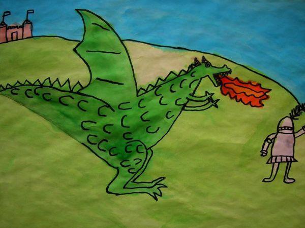Страсти по драконам | Ярмарка Мастеров - ручная работа, handmade