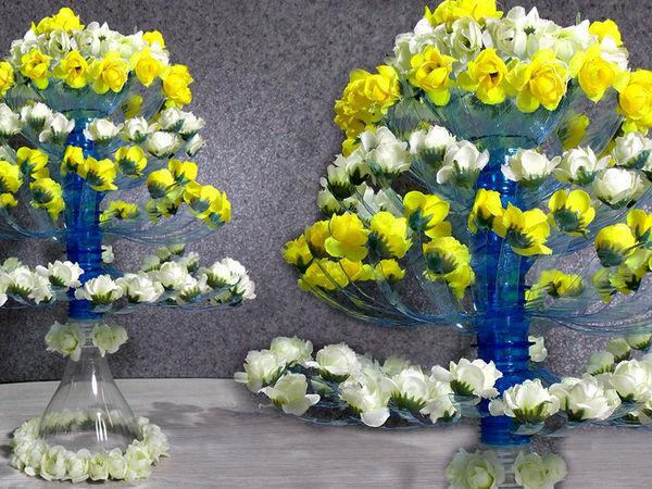 Мастерим цветущее дерево из пластиковых бутылок: видео мастер-класс | Ярмарка Мастеров - ручная работа, handmade