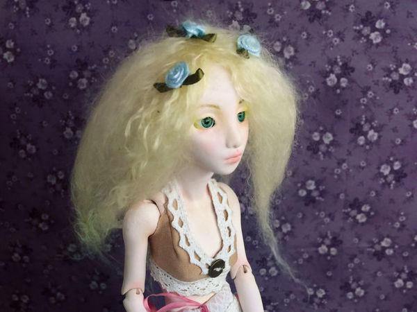 Видео мастер-класс: шарнирная кукла из полимерной глины. Урок 2 | Ярмарка Мастеров - ручная работа, handmade