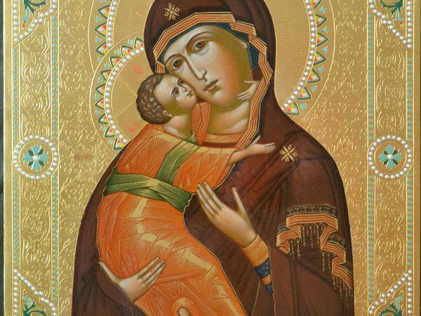 Празднование иконы Пресвятой Богородицы Владимирской | Ярмарка Мастеров - ручная работа, handmade