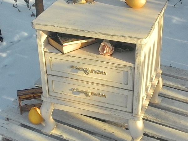 Новинка! Красивая нежная тумбочка | Ярмарка Мастеров - ручная работа, handmade