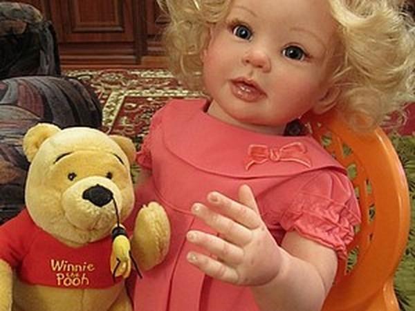Малышка Бонни-2 - кукла реборн Инны Богдановой | Ярмарка Мастеров - ручная работа, handmade