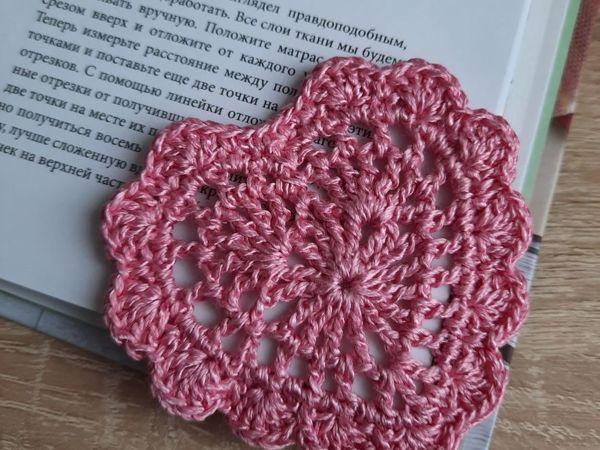 Делаем валентинку — закладку в виде сердца | Ярмарка Мастеров - ручная работа, handmade