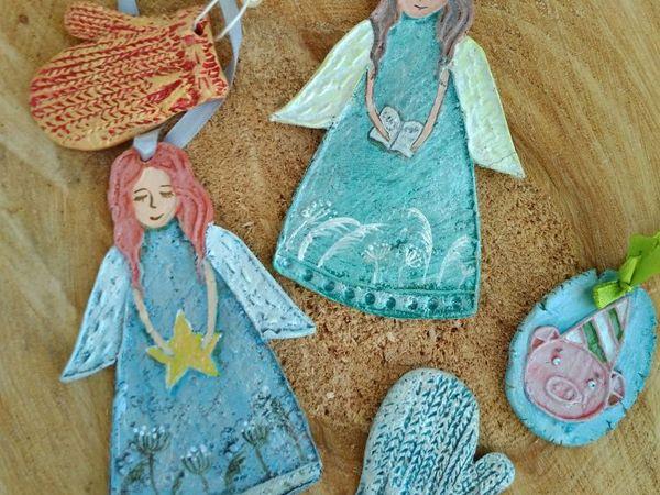 Мастерим елочные игрушки   Ярмарка Мастеров - ручная работа, handmade