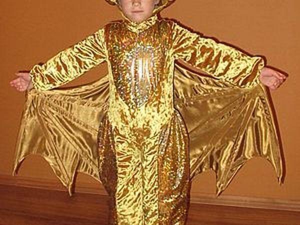Карнавальный костюм «Золотой дракон» | Ярмарка Мастеров - ручная работа, handmade