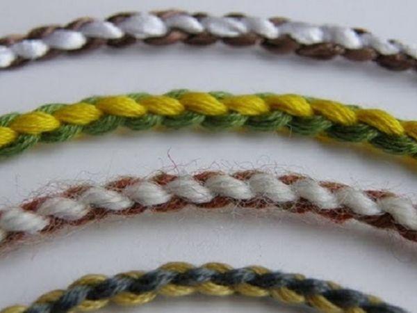 Плетение пояса из двух шнуров в традиционной русской технике | Ярмарка Мастеров - ручная работа, handmade