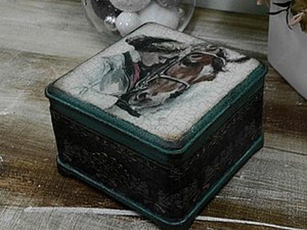 Отчет о МК по старинной шкатулке 26 января | Ярмарка Мастеров - ручная работа, handmade