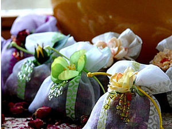 Ароматическое саше. Идеи и рецепты | Ярмарка Мастеров - ручная работа, handmade