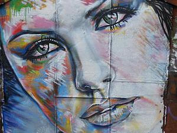 Как расписать стену в технике граффити   Ярмарка Мастеров - ручная работа, handmade