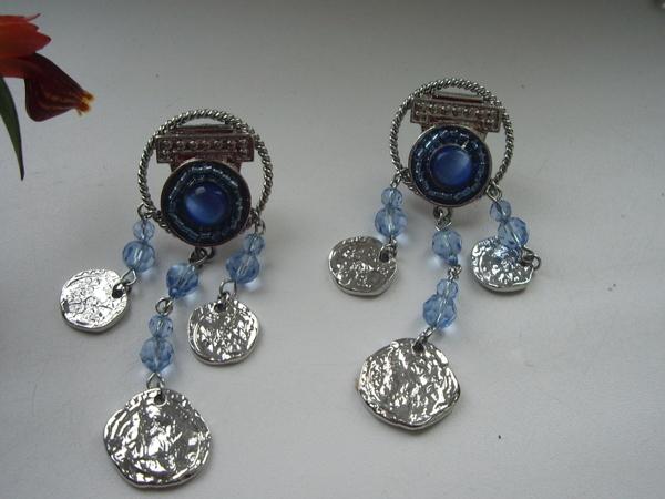 Аукцион — винтажные итальянские серьги,ювелирная бижутерия | Ярмарка Мастеров - ручная работа, handmade