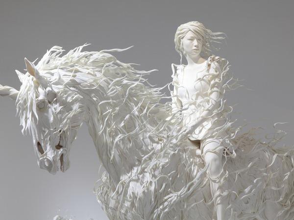 Искусство в белом цвете. Изумительные работы талантливых скульпторов   Ярмарка Мастеров - ручная работа, handmade