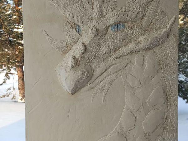Драконы барельеф: почему драконы? | Ярмарка Мастеров - ручная работа, handmade