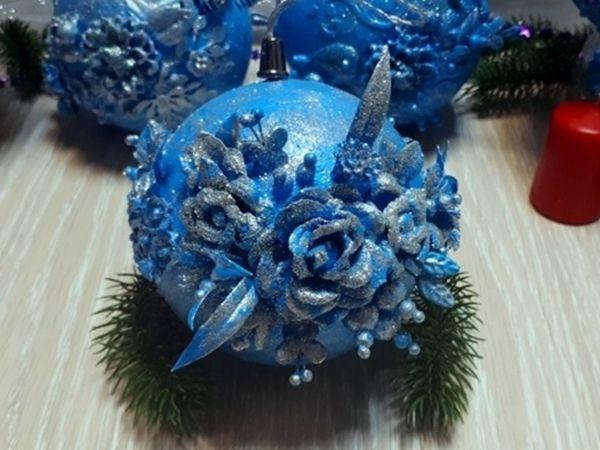 Изготовление новогоднего шара | Ярмарка Мастеров - ручная работа, handmade