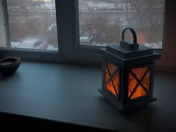 Make Decorative Lantern From Cardboard | Livemaster - handmade