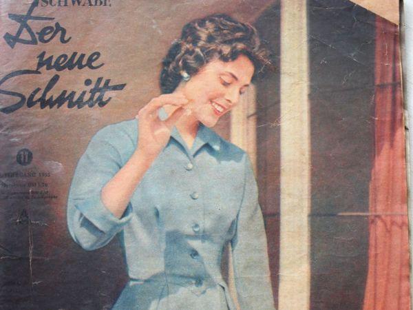 Der Neuer Schnitt — старый немецкий журнал мод -11/1955 | Ярмарка Мастеров - ручная работа, handmade