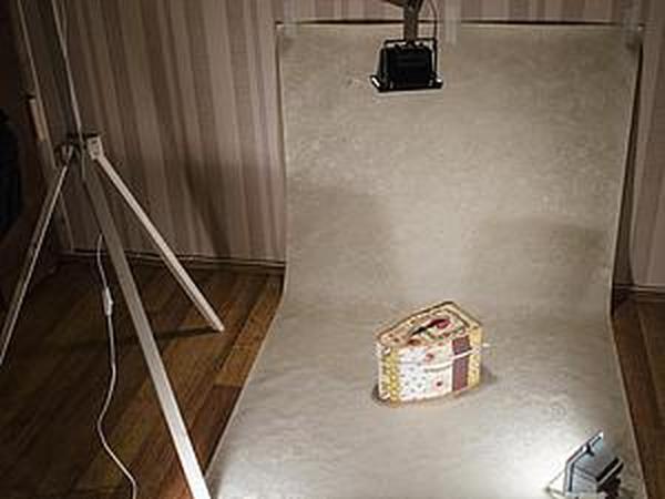 Как сделать штатив для прожектора в домашнюю фотостудию | Ярмарка Мастеров - ручная работа, handmade