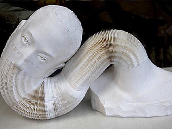 В Нью-Йорке проходит выставка растягивающихся скульптур из бумаги | Ярмарка Мастеров - ручная работа, handmade