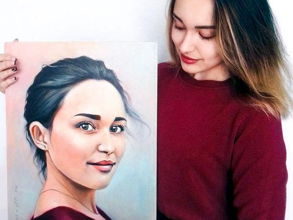 Портрет на заказ   Ярмарка Мастеров - ручная работа, handmade