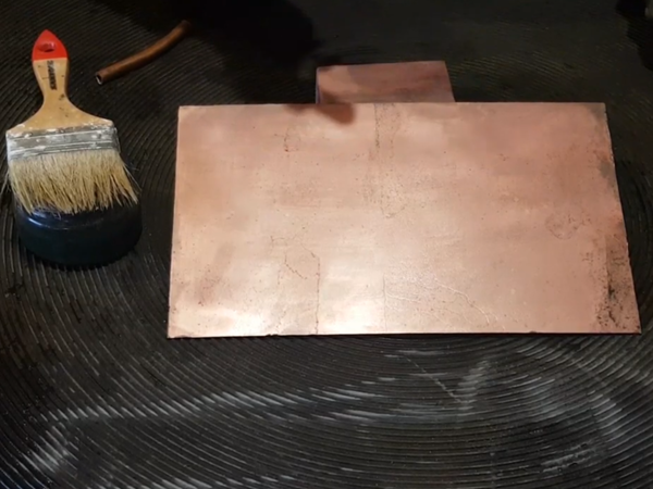 Меднение черного металла   Ярмарка Мастеров - ручная работа, handmade