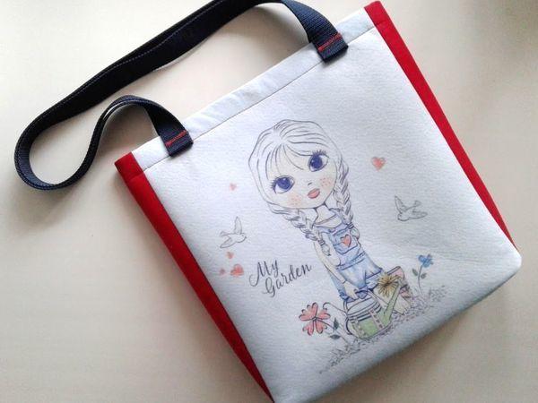 Шьем яркую сумку из фетра с печатью (сублимацией) | Ярмарка Мастеров - ручная работа, handmade