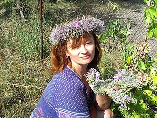 Птица из травы и цветов | Ярмарка Мастеров - ручная работа, handmade