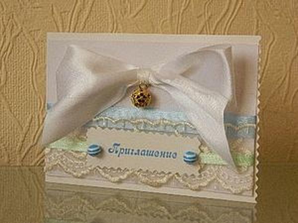 Мастерим «звонкое приглашение» на свадьбу | Ярмарка Мастеров - ручная работа, handmade