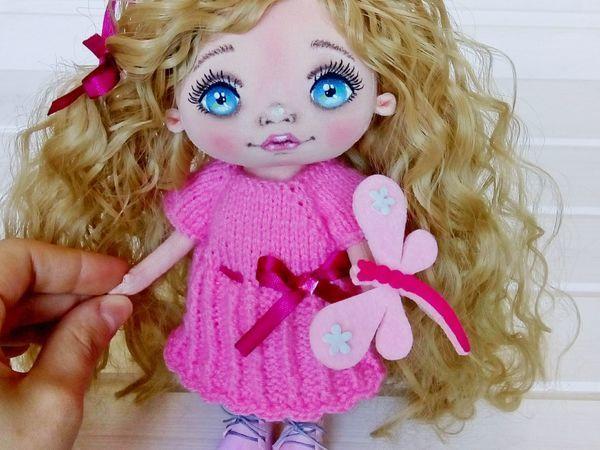 Уроки вязания: мастерим платье для куклы   Ярмарка Мастеров - ручная работа, handmade