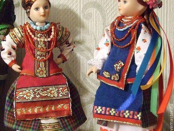 Украинки — мои куклы, особенности украинского народного костюма | Ярмарка Мастеров - ручная работа, handmade