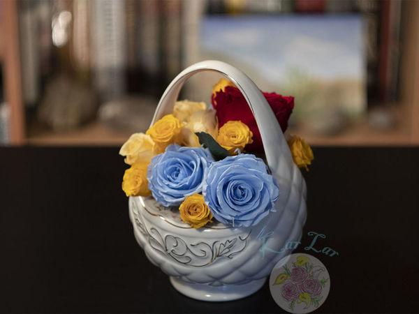 Стабилизированные цветы | Ярмарка Мастеров - ручная работа, handmade