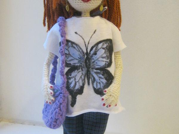 Вяжем пальчики кукле | Ярмарка Мастеров - ручная работа, handmade