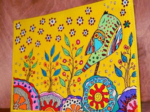 Мастер-класс Перманентная роспись. Декорирование поверхностей | Ярмарка Мастеров - ручная работа, handmade