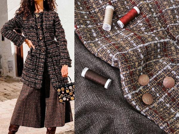 Смесовые костюмные ткани | Ярмарка Мастеров - ручная работа, handmade