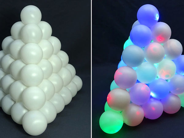 How to Create Creative Ping Pong Ball Nightlight | Livemaster - handmade