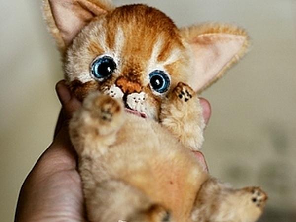 Абсолютно новый МК по котенку | Ярмарка Мастеров - ручная работа, handmade