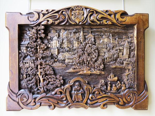 Миры из дерева: волшебные картины Кронида Гоголева | Ярмарка Мастеров - ручная работа, handmade