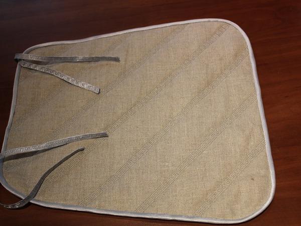 Шьем подушку-сидушку на стул | Ярмарка Мастеров - ручная работа, handmade