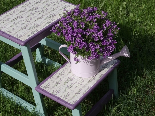 Remaking Old Stool: Stylish Decor from Simple DIY Things | Livemaster - handmade