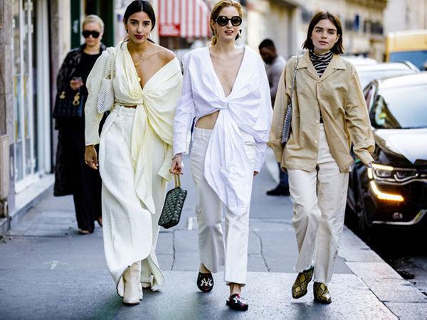 Симпатичная парижская мода