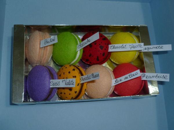Шьем фетровое печенье макаронс | Ярмарка Мастеров - ручная работа, handmade