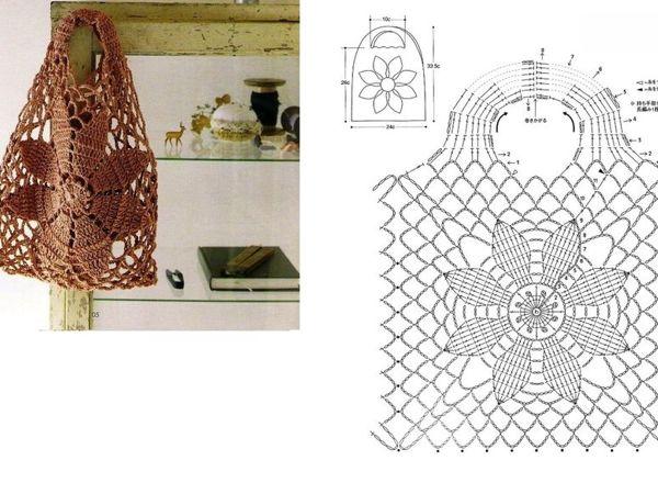 Простые и необычные авоськи крючком — идеи для вязания и вдохновения | Ярмарка Мастеров - ручная работа, handmade