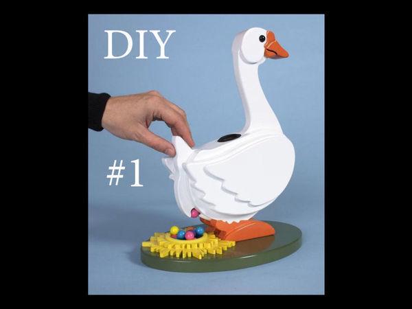 Создаем настольную игру для детей «Утка» своими руками | Ярмарка Мастеров - ручная работа, handmade