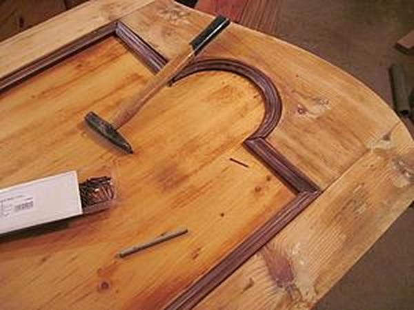 Реставрация старинного шкафа. Часть 8: покраска, вторая и третья шпаклевка | Ярмарка Мастеров - ручная работа, handmade